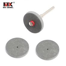 MX-DEMEL 3 шт. 22*3 мм резиновые полировальные колеса для стоматологические украшения Dremel шлифовальные вращающиеся инструменты диск с оправкой абразивные инструменты