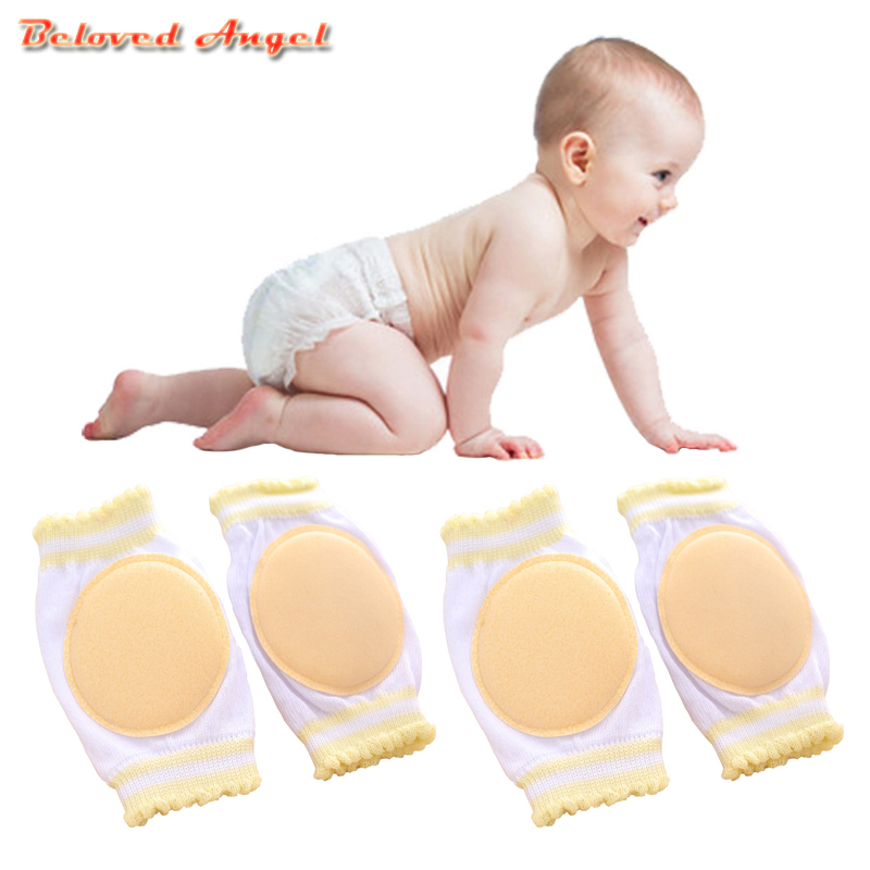 0-3 Years Old Kid Baby Knee Pads Kids Anti Slip Compression Crawl Knee Sleeve Unisex Kneecap Protector Harnesses & Leashes