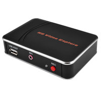 HD Video capture card, convert HDMI to HDMI+ Mic or USB Flash disk for game equipment directly no pc need, easy take