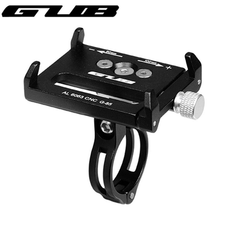 GUB G-85 Регулируемый Велоспорт Телефон держатель для 3,5-6,2 дюймов смартфон руль велосипеда и мотоцикл держатель кронштейн