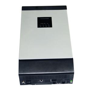 Image 2 - Onduleur solaire hybride à onde sinusoïdale Pure 3KVA 24V 220V 110V intégré PWM 50A contrôleur de Charge solaire et chargeur ca pour un usage domestique