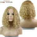 New Available Short Synthetic Lolita Curly Black Wigs Blonde Cospaly Heat Resistant Wig for African American Black Women