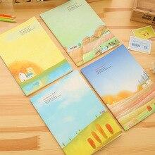 2pcs / lot Boutique 16K Notebook Car Line Book Green B5 Students Korean Stationery