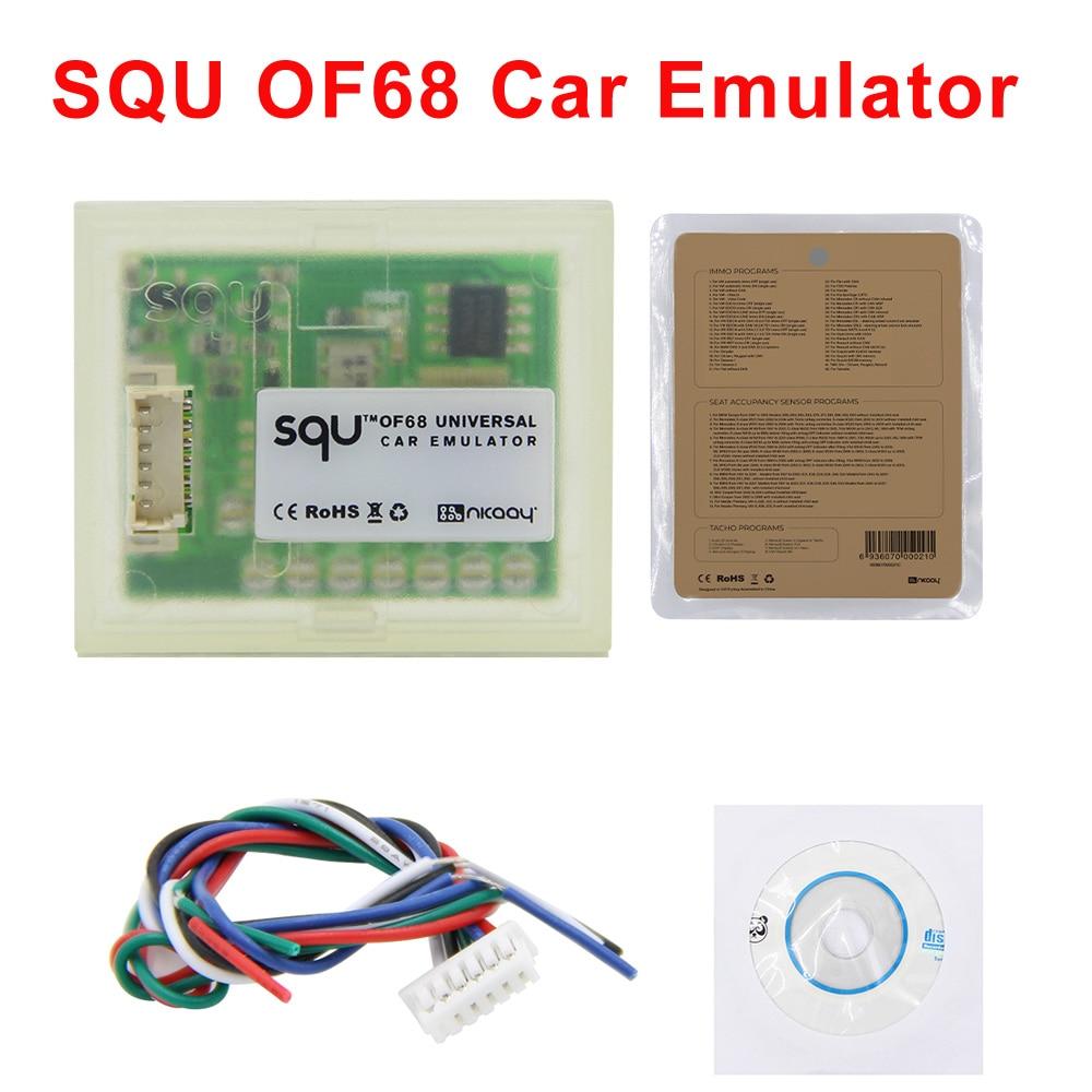 Squ of68 эмулятор поддерживает сигнала сброса IMMO/Тахометр диагностические