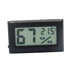 Мини Черный Цифровой ЖК-дисплей Температура Влажность комнатный измеритель влажности термометр гигрометр датчик температуры Влажность