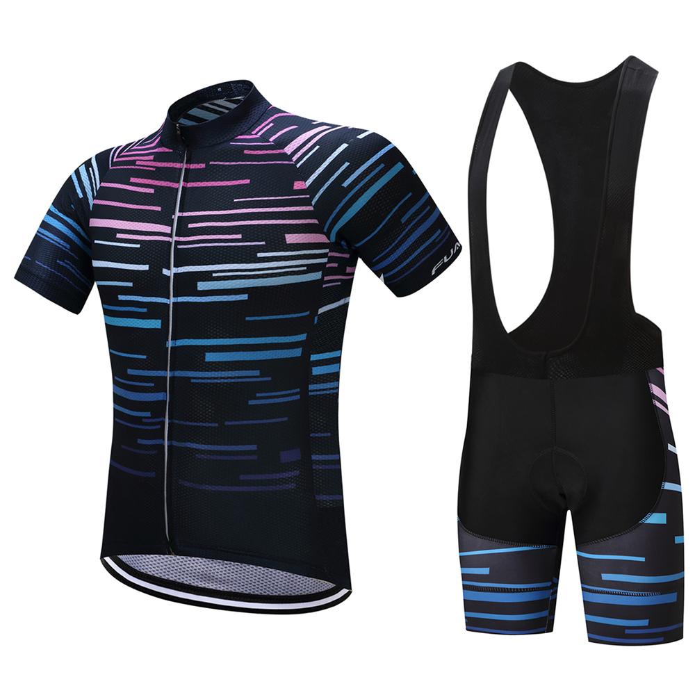 FUALRNY 2018 Pro Summer Cycling Jerseys set Breathable MTB Bike Clothing Road Bicycle Sportswear Maillot Ropa Ciclismo For Man cycling clothing rushed mtb mavic 2017 bike jerseys men for graffiti cycling polyester breathable bicycle new multicolor s 6xl