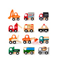 Hot sale toddler toys 12 styles car model toys kids creative wooden mini car toys kids preschool educational toys