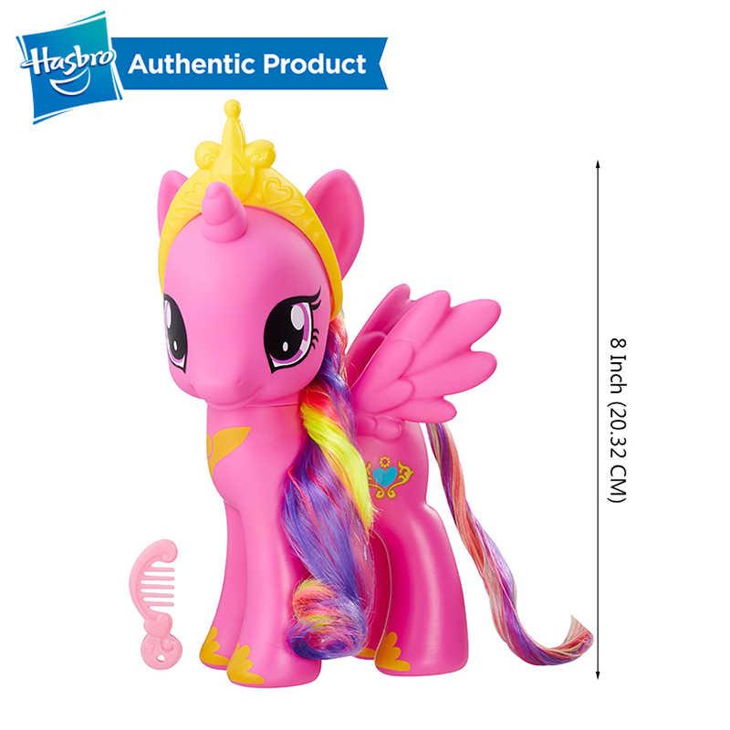 8-polegada 22cm Crepúsculo Hasbro My Little Pony Raridade Da Apple Jack Princesa Candace Collectible Action Figure PVC Modelo meninas de Presente