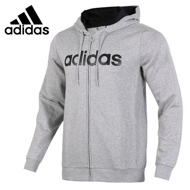 13c20c5438e Nova Chegada Original 2018 Adidas NEO Rótulo CE ZIP MOLETOM COM CAPUZ  jaqueta Com Capuz Sportswear
