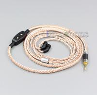 LN006259 16 Core OCC Silver Plated Mixed Headphone Cable For AKR03 Roxxane JH Audio JH24 Layla Angie AK380 AK240 ak100ii rosie