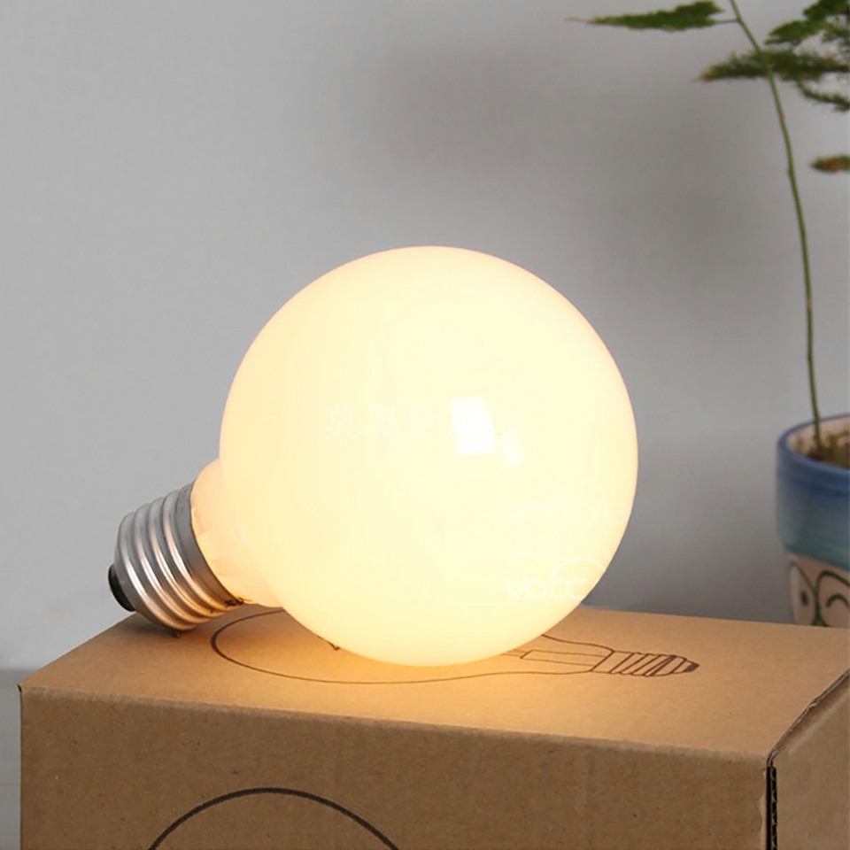 40W G80 Bulb 360 Degree E27 Warm White Lighting Bulbs 220V Lamp Indoor Light Living Room Lamp Dragonball Bulb