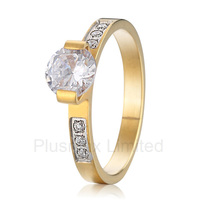 Anel Free UK Delivery Vintage Women Engagement Wedding Rings Titanium Jewelry For Men