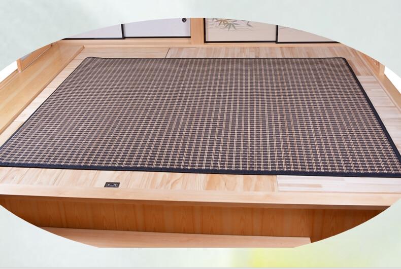 Japāņu grīdas bambusa paklāja spilventiņš ar lielu izmēru - Mājas tekstils - Foto 3