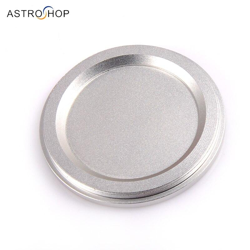 tampao de poeira de prata do metal com rosca masculina m72x0 75