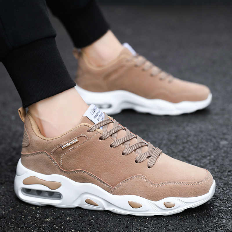 eb5457d2 Новое поступление Высококачественные мужские туфли дышащие модные  повседневные мужские ботинки Удобная одежда износостойкая Мужская обувь Для
