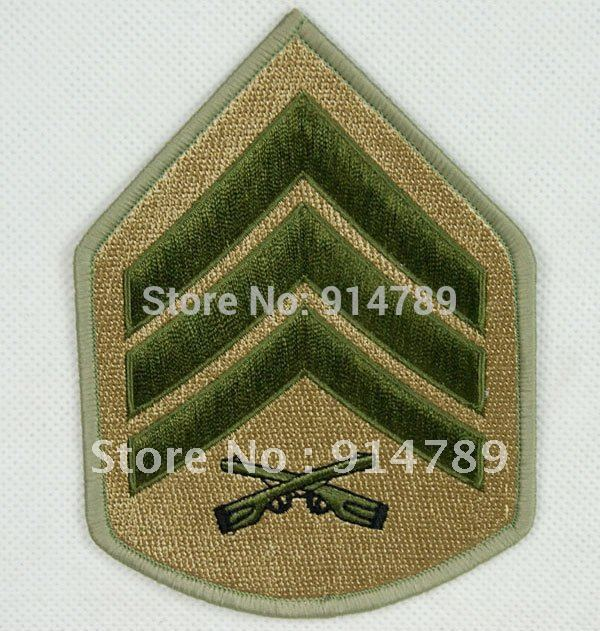 US MARINES SERGEANT MILITARY EMBROIDERED PATCH -32265