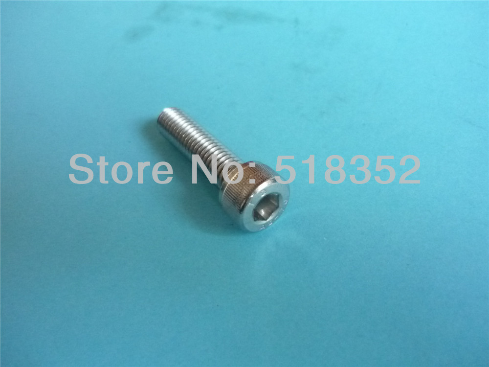 <font><b>M3</b></font> <font><b>x</b></font> 30/ <font><b>35mm</b></font> DOUBLE SHENG 304 Stainless Steel <font><b>Screw</b></font> with Cylinder Head Inner Hexagon for EDM Machine Accessaries image