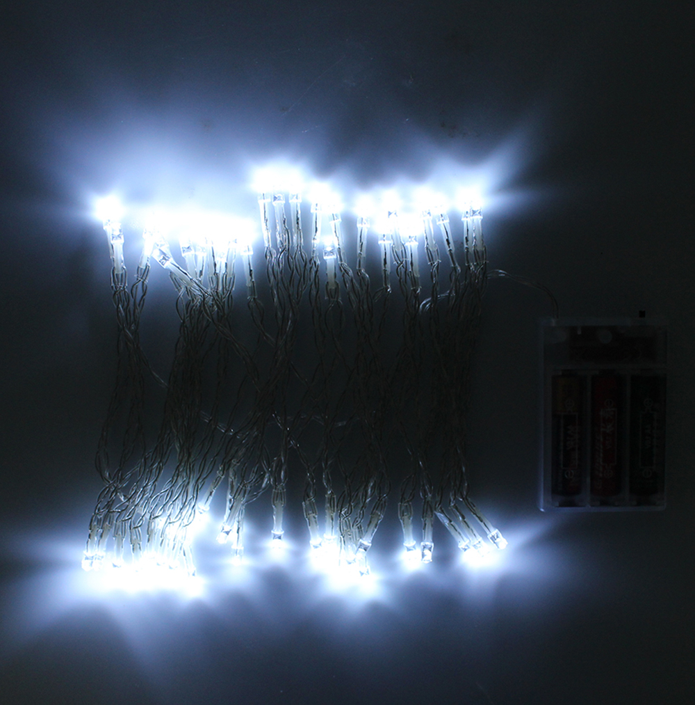 80leds 10M LED String Light Battery Powered Fairy Lights For Party Garden Wedding Christmas Holiday Home Decoration Lighting
