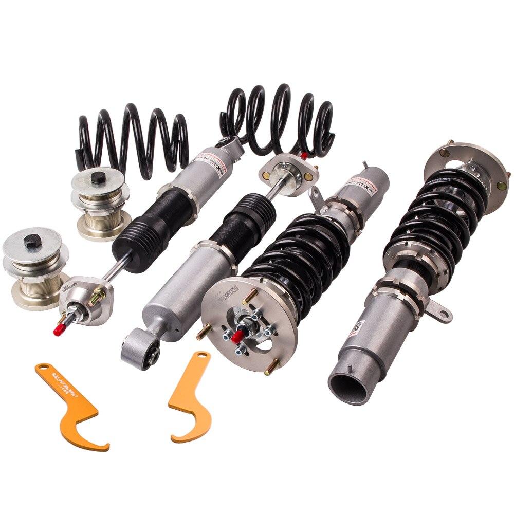 Полный набор Coilover для BMW E46 Регулируемый пружины подвески 98-05 330xd 330d 330i 328i 318i амортизатор стойки комплект