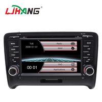 LJHANG 7 дюймов машинный DVD проигрыватель для Audi TT 2006 2007 2008 2009 2010 2011 gps навигации Bluetooth аудио стерео USB RDS FM головное устройство