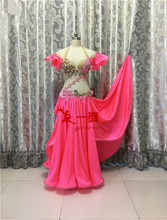 Bellydance oriental Belly Indian gypsy eastern dance dancing costume costumes clothes wear bra belt robe skirt