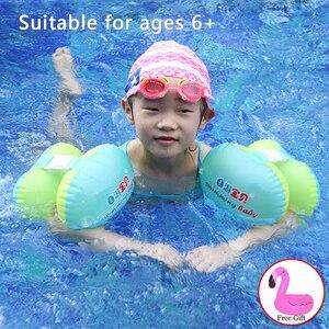 Image 3 - 아기 수영 반지 풍선 동그라미 PVC 수영 동그라미 어린이 신생아 수영장 수영 수영 바퀴/팔 반지