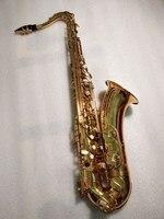 Высокое качество Франция Selmer 802 серии B без каблука Музыкальные инструменты тенор Никель плиты лучшие профессиональные и аксессуары