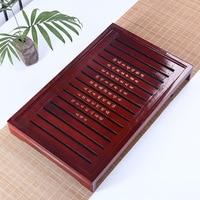 Hot sale,Kung Fu Tea Set Tea accessories Natural Wood Tea Tray cultural Traditional Bamboo Puer Tea Tray
