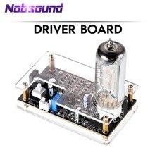 Nobsound HiFi Mini Magische Auge 6E2 EM87 Preamp Audio Ebene Anzeige VU Meter Treiber Board Mit Fall