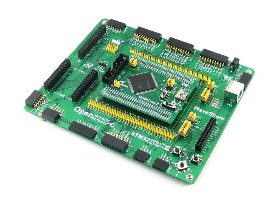 ARM STM32 Board Cortex-M4 Board STM32F407 STM32F407Z PL2303 USB UART Board (mini) # Open407Z-C Standard stm32 board arm cortex m4 stm32f407 stm32f407z 3 2 lcd display usb uart ethernet norflash camera module open407z c package a