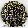 5000pcs/bag,SS16,4mm,Nail Art,HD Gold yellow,Jelly AB resin flatback crystal rhinestone,phone case,use glue,nails,Decoration