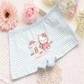 4 pçs/lote do bebê do bebé da criança para meninas cuecas shorts viveiros crianças boxer roupas íntimas crianças calcinhas CGUB 6012