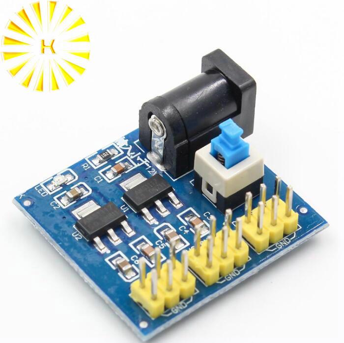 DC-DC 12V 3.3V 3.3V 5V 12V 5V power supply module output voltage conversion module Connector