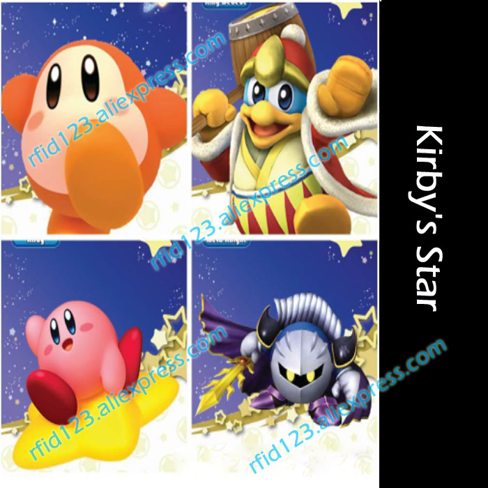 NFC Card NTAG215 Printing Card for Kirby's Star Full Set-4PCS