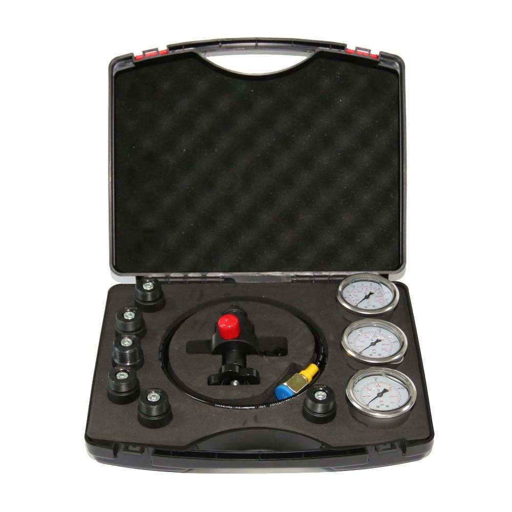 XZGK-01 Hydraulic Accumulator Cylinder Nitrogen Gas Charging Kit And Pressure Test Kit