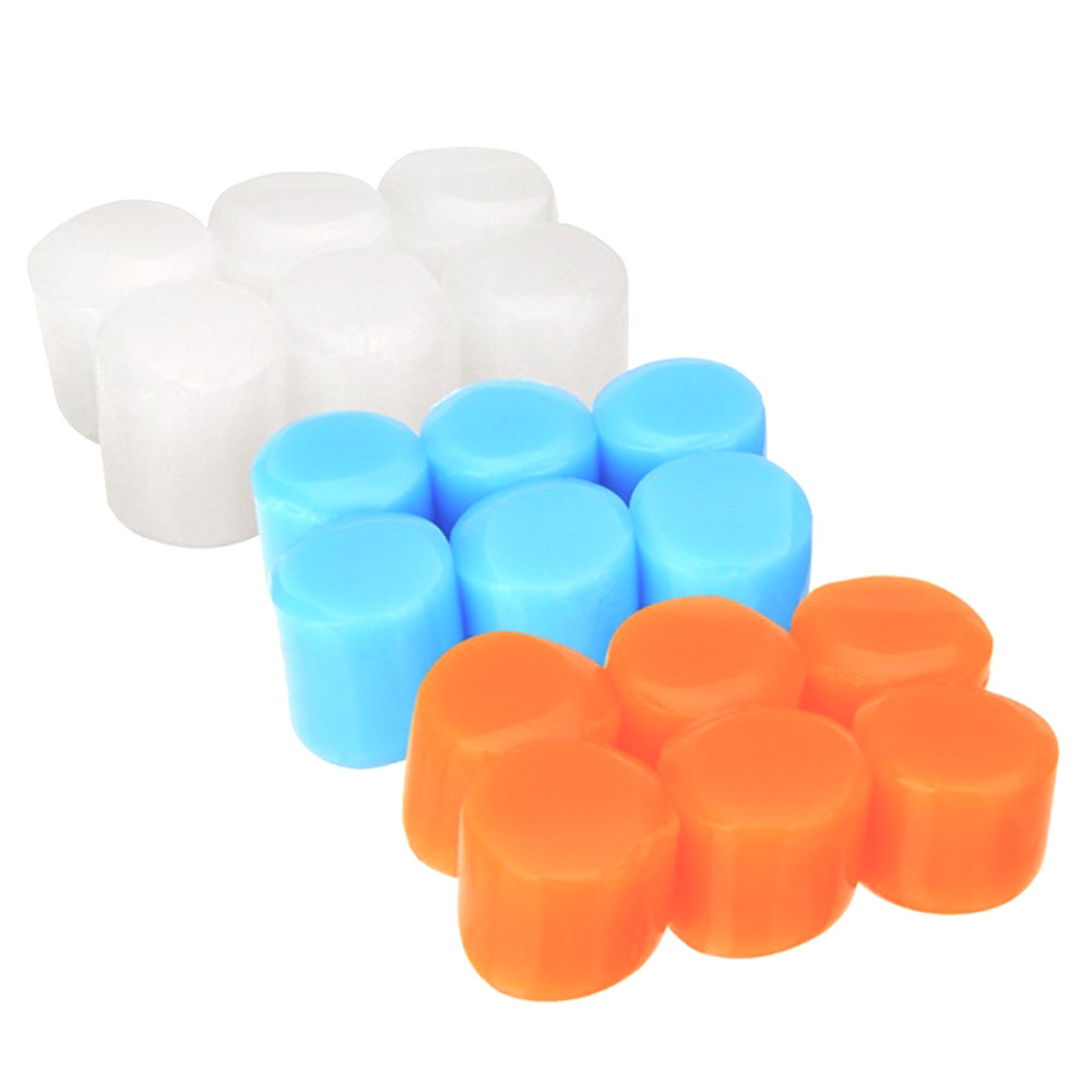 6 Pcs Anti Noise Snore Soundproof Ear Plug Travel Sleep Noise Reduction Earplugs Waterproof Silicone Earplugs Noise Protection