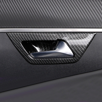 Car Accessories Inner Door Handle Bowl Cover Trim 4pcs For Peugeot 3008 GT 2016 2018/ 5008 GT 2017 2018 car styling