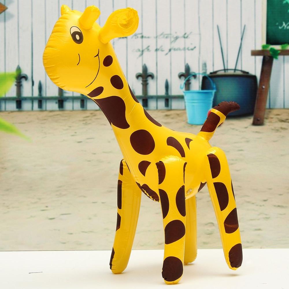 JIMITU Friendly PVC Giraffe Design Inflatable Toys Party Balloon Children Deer Shaped Balloons Inflatable Cartoon Animals