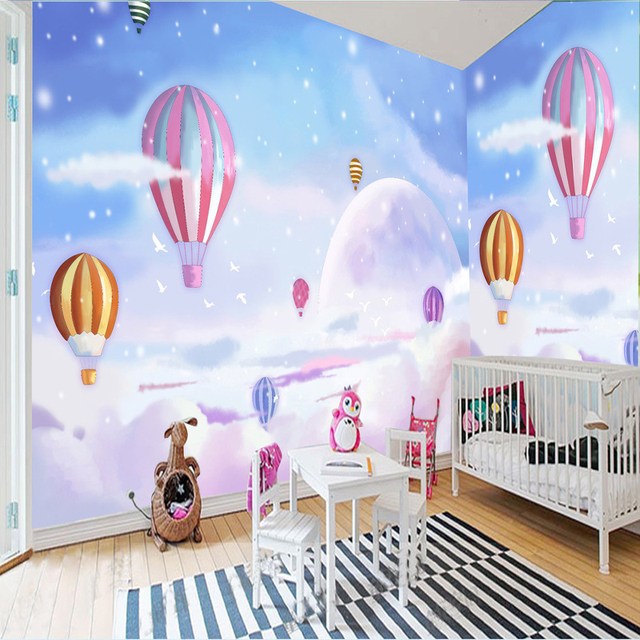 Kid mural wall murals for Girls murals