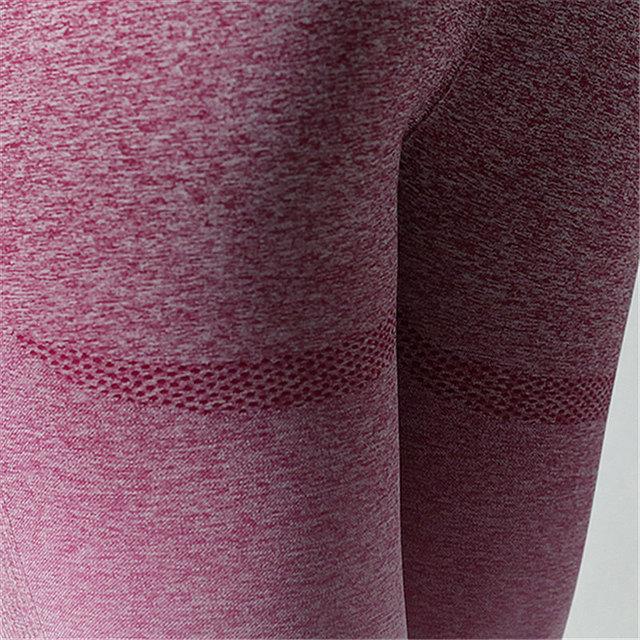 2018 Stretchy Gym Tights Energy Seamless Leggings Tummy Control Yoga Pants High Waist Sport Leggings Running Pants Women