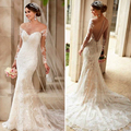2016 Pretty Wedding Dress Sweetheart Chiffon Mermaid Bridal Gown Back Button Court Train Floor Length Wedding Wear