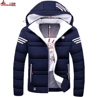 Winter Jacket Men Casual Warm Cotton Down Coat Mens Jackets And Coats Thicken Outwear Brand Clothing