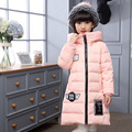 New Brand Kids Girls Winter Duck Down Jacket Girl Winter Light Thin Outerwear Girl Snowsuit Princess Clothing Winter Girl Parka