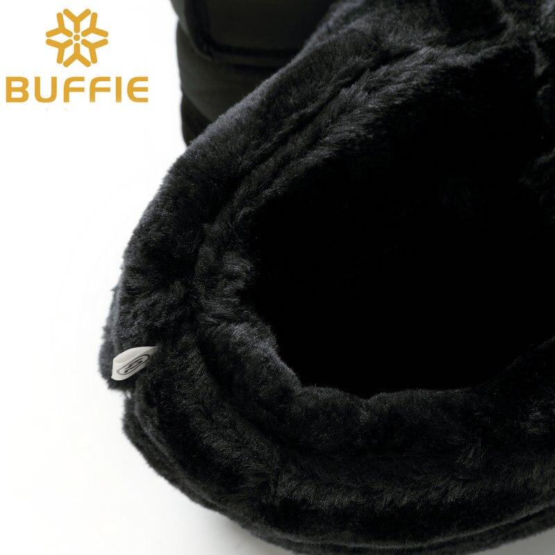 Men shoes Winter Boots Shoe Solid Black Snow Boots Plus size 36 to - Men's Shoes - Photo 6