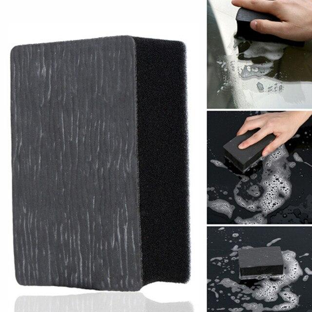 1 pièces lavage de voiture magique argile barre tampon éponge bloc Super Auto détaillant propre argile voiture propre outils magique boue voiture nettoyant