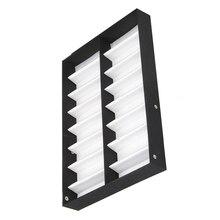 Best Очки витрины 16 пар ящик для хранения с Складная крышка для солнцезащитные очки коробкой (черный + белый)