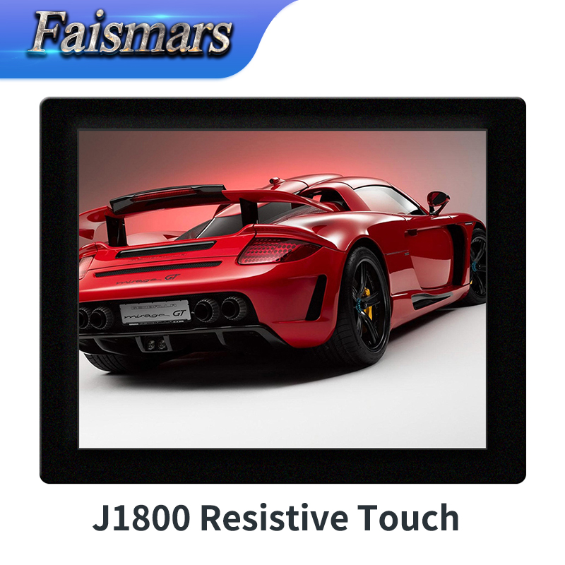 Faismars 10.4 Inch 1024*768 Resolution Resistive touch screen desktop computer all in one pc J1800 Rack Mount