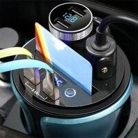 5pcs 12 24V Car Cigarette Lighter Dual USB for Phone Battery Voltage Tester