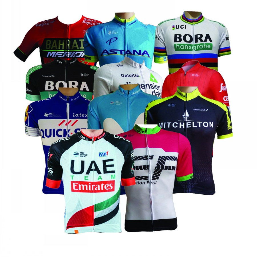 all teams ! 2018 new UCI pro teams summer mens Cycling jerseys breathable bike clothing MTB Ropa Ciclismo Bicycle maillot only spring autumn pro team colombia mens long sleeves cycling jerseys breathable bike clothing mtb ropa ciclismo bicycle maillot