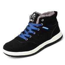 купить 2019Aidema Men Boots Winter With Fur  Warm Snow Boots Men Winter Boots Work Shoes Men Footwear Fashion Men Shoes по цене 1973.34 рублей